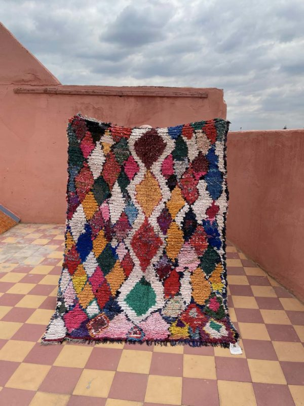tapis Boucherouite