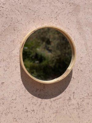Miroir rond tamis