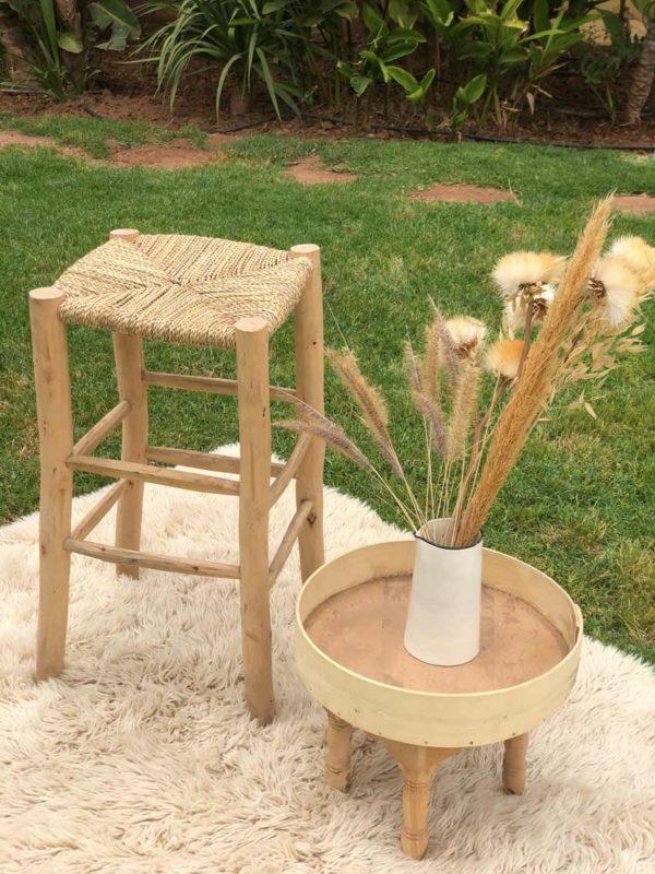 Tabouret Beldi en bois