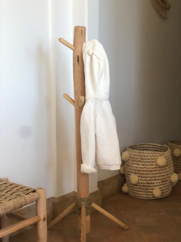 Porte manteau enfant en bois